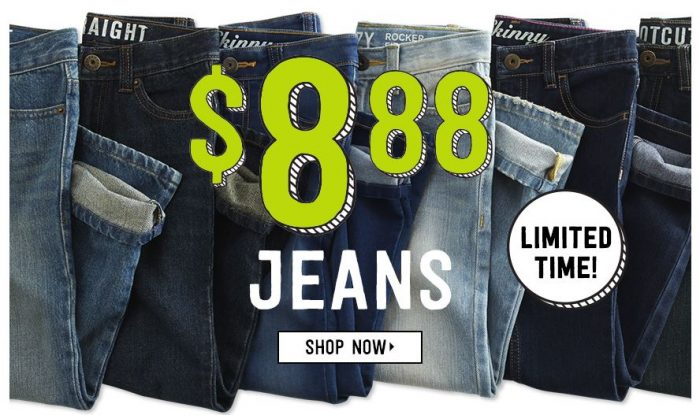 crazy 8 8.88 jeans