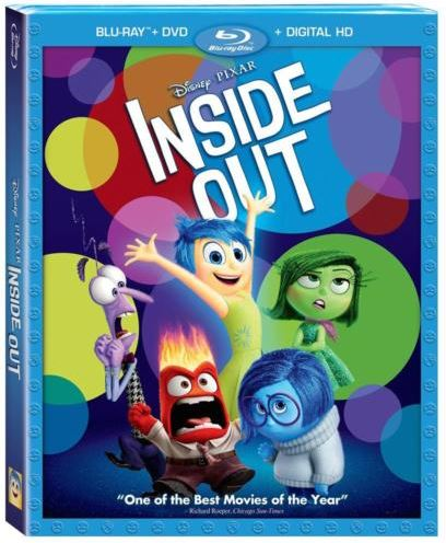 disney inside out blu-ray combo pack