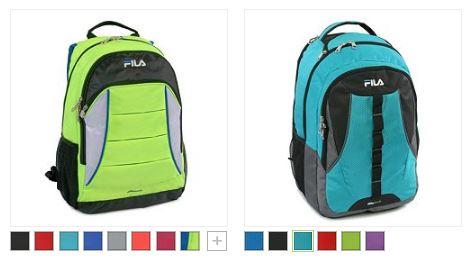 fila backpacks