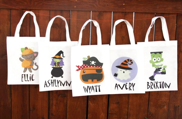 Halloween Trick Or Treat Bags Personalized.Personalized Trick Or Treat Bags 28 Styles 8 50 Reg 16