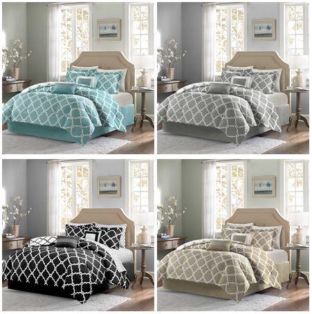 home essence merritt 5 piece comforter set