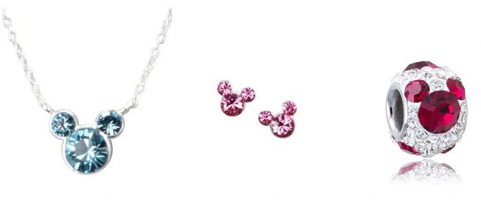 mickey birthstone jewelry