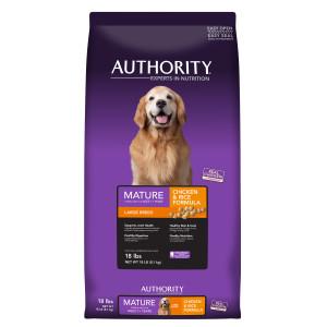 Petsmart authority dog food