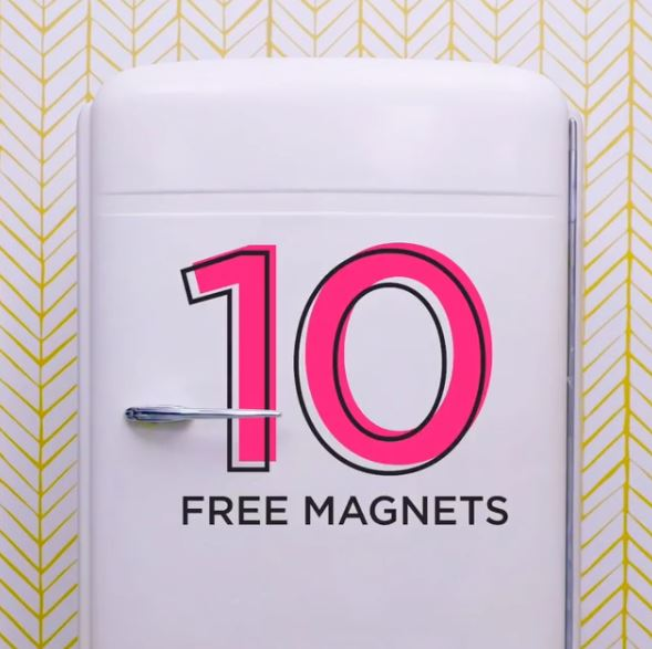 shutterfly 10 free magnets