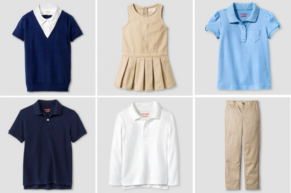 School Uniforms 50 Off At Target Polos 3 Skirts Shorts 499