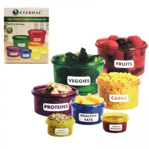 14pc Portion Control Container Set
