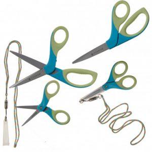 4 Pairs Westcott Titanium Scissors