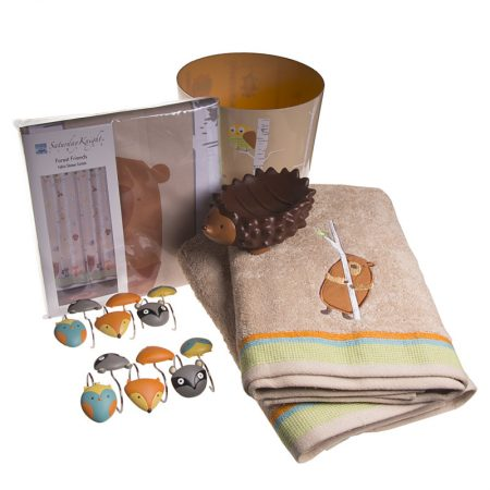 forest-friends-bathroom-accessories-set