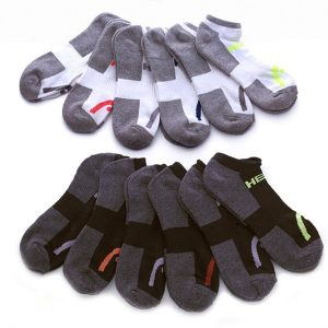 HEAD Men's Moisture-Wicking Socks