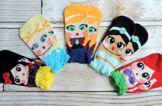 Kid's Fairy Tale Inspired Socks