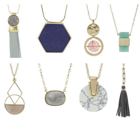 Semi-Precious Stone Necklaces