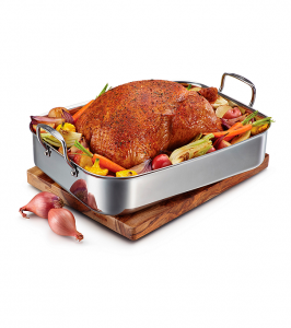 stainless-steel-tri-ply-clad-rectangular-roaster-with-nonstick-rack