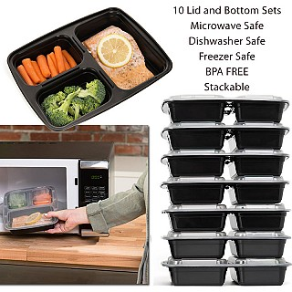 compartment luch containers