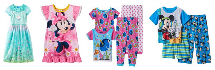 disney-character-pajamas