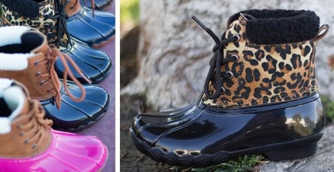 kids-duck-boots