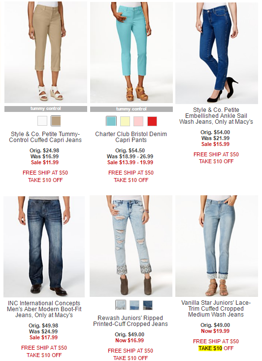 macys jeans 1