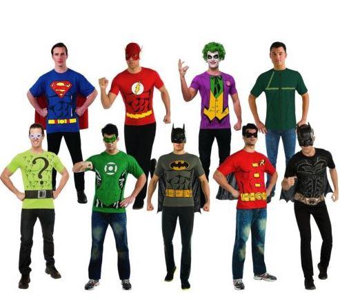 mens-superhero-costume-t-shirts