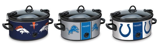 Have a little fun when throwing a football party with these NFL crock pots. NFL  Crock-Pot 6-Quart Slow Cooker ... 79e448948