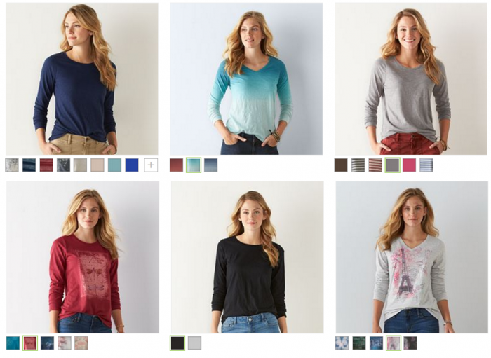 sonoma-goods-for-life-long-sleeve-womens-tees