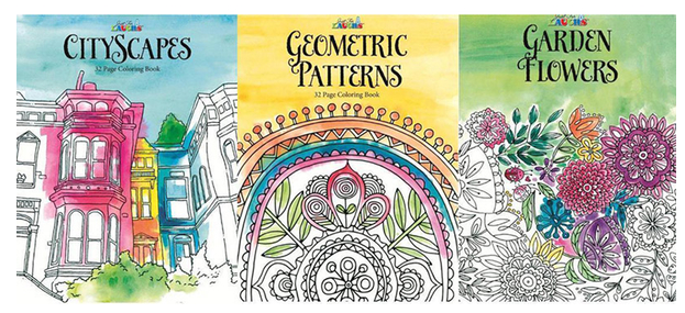 3-piece-adult-coloring-book-collection