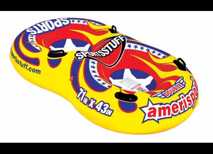 double-amerisport-inflatable-sled