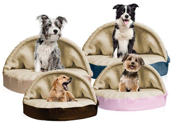 round-faux-sheepskin-snuggery-pet-bed