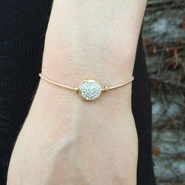 rounded-puff-heart-rhinestone-bracelets