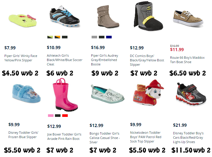 121f1a3f0f5 Kids Shoe Event: Buy One Get One for $1! Soccer Cleats for $6 ...