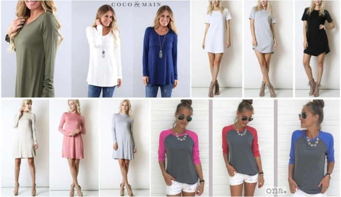 e84716d163a There are some hot deals today on tunics & raglans! Check these out and  find something new for your fall style.