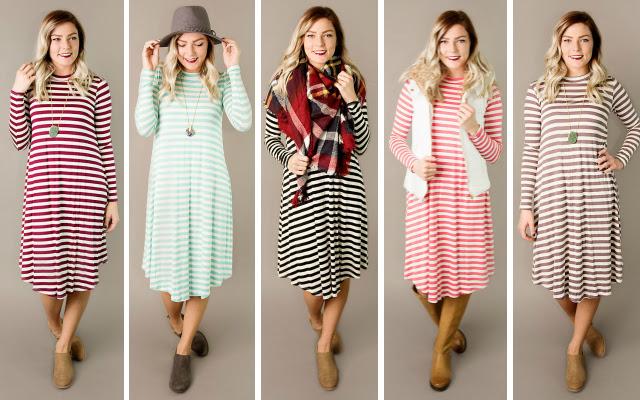 amy-striped-swing-dress