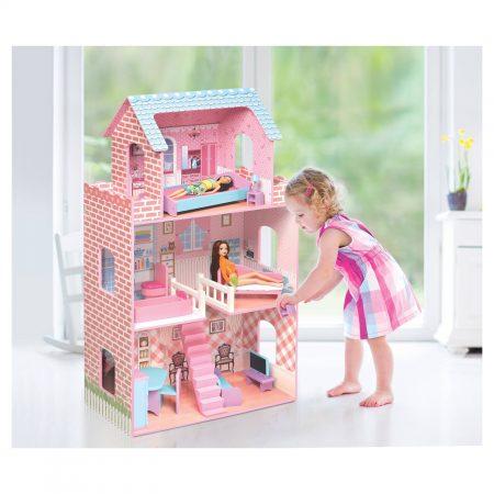 badger-basket-wooden-dollhouse-and-furniture-for-12-inch-dolls