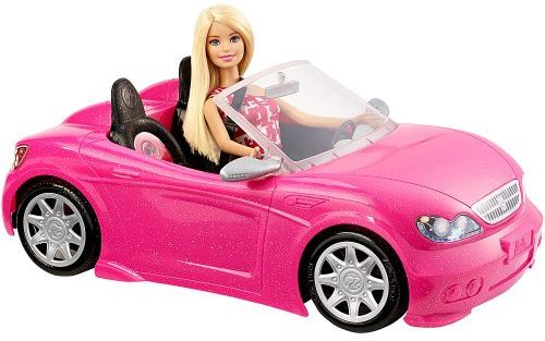 barbie-doll-and-convertible