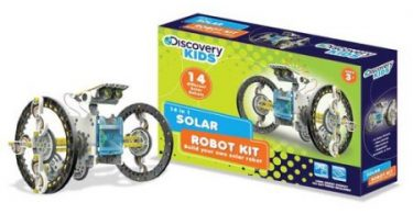 discovery-kids-14-in-1-solar-powered-robot-kit-diy-14-different-models