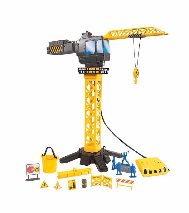 discovery-kids-motorized-toy-crane-tower-set