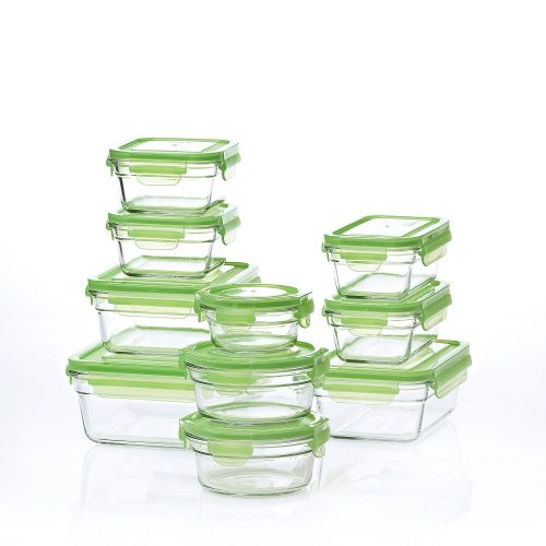 Glasslock Or Pyrex 20 Piece Food Storage Set For $19.98 Shipped!