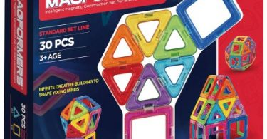 magformers-rainbow-30-piece-magnetic-construction-set