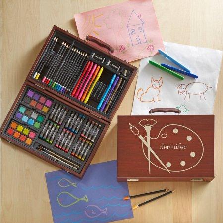 personalized-80-piece-youth-art-set