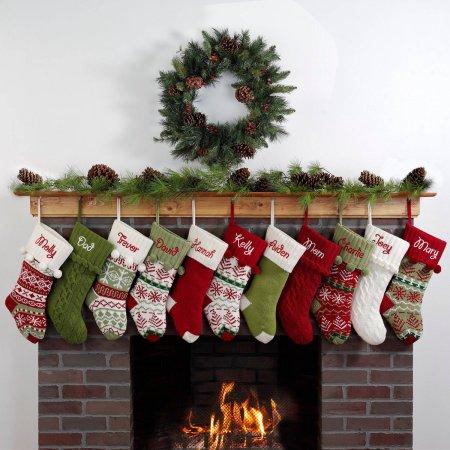 fe1e9be214c Personalized Snowflake Knit Christmas Stocking for  19.97! – Utah ...