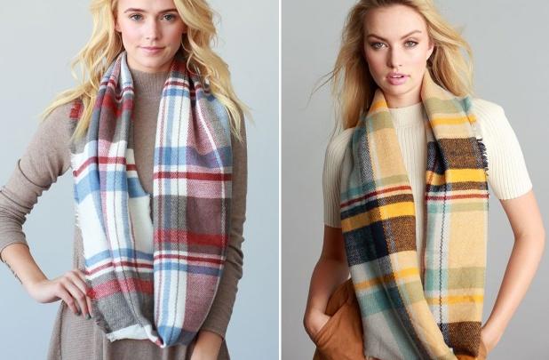plaid-infinity-scarf