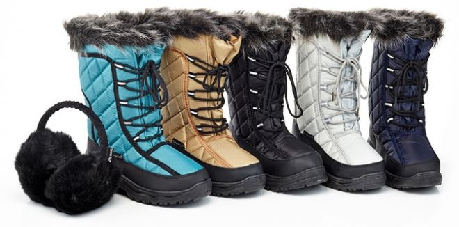 snow-tec-womens-cold-weather-boot-with-free-earmuffs