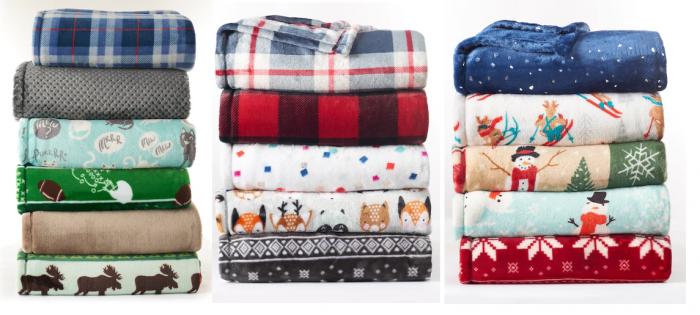 Kohls Throw Blankets Amazing Kohls Fleece Blanket 6060 Photo Blanket