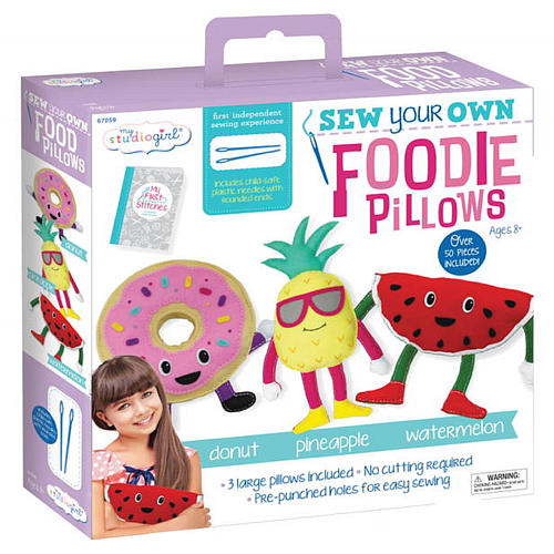 university-games-foodie-pillow-combo-pack-craft-kit