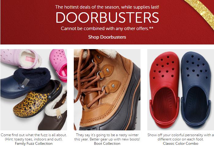 crocs-doorbusters-black-friday
