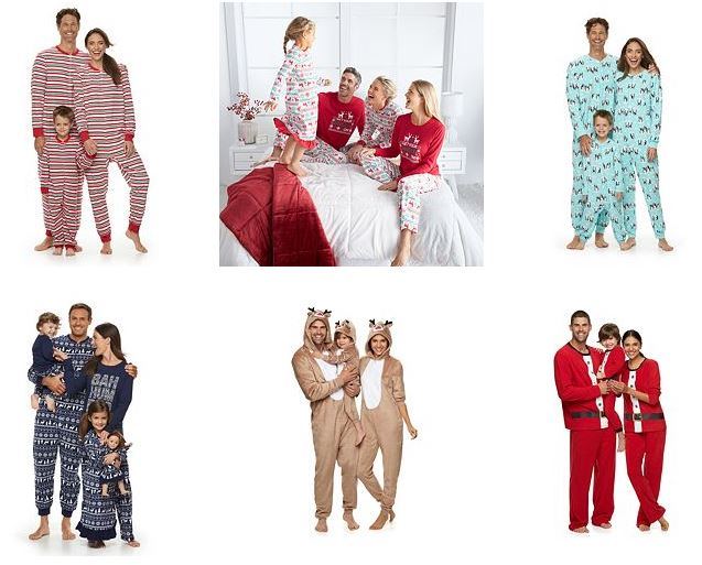 family-christmas-pajamas-kohls