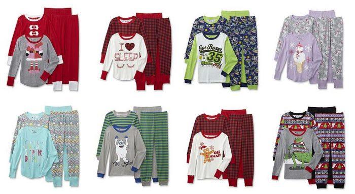 kmart-kids-christmas-pajama-sets