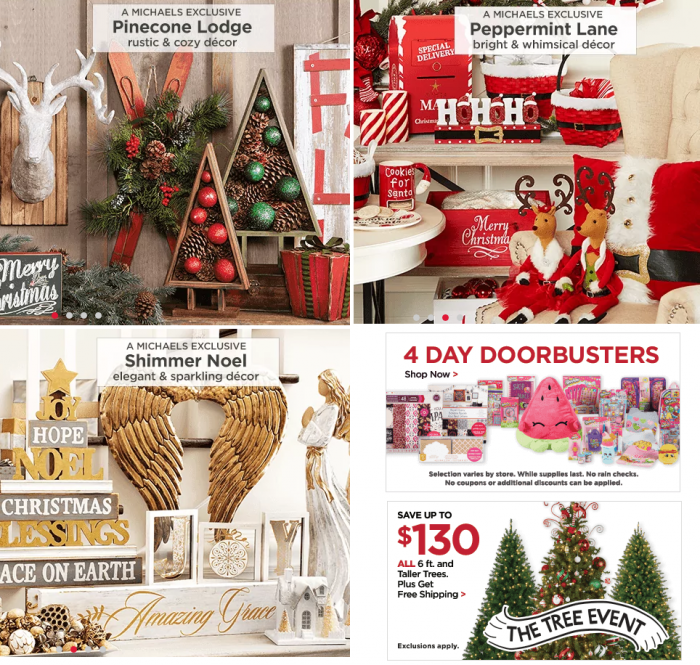 *HOT Holiday Decor Deals!* Michael's 20% Off Coupon, Stacks with 50% Off Sale! Plus Shopkins BOGO 50% Off, $2.50 Tees, More!
