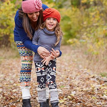 patterned-leggings