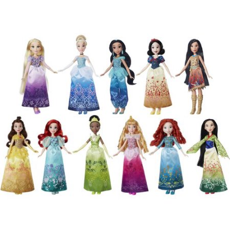 disney-princess-shimmering-dreams-collection-11-pack