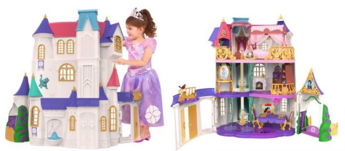 NEW 1:12 scale dollhouse miniature Disney PRINCESS DOLLS 6 pack toy boxes