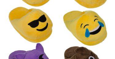 funny-emoji-plush-house-slippers